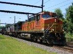 BNSF 4855, KCS 4602, CSX 4828 on K041